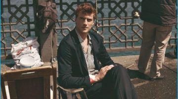 Clément Chabernaud Takes a Summer Holiday with L'Officiel Hommes Turkey