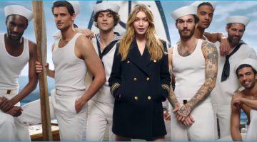 David Alexander Flinn, Garrett Neff + More Set Sail with Gigi Hadid for Tommy Hilfiger's The Girl Fragrance Campaign