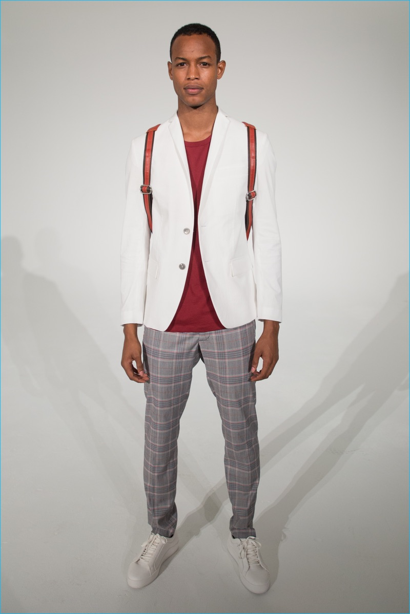 David Naman embraces smart separates for its spring-summer 2017 collection.