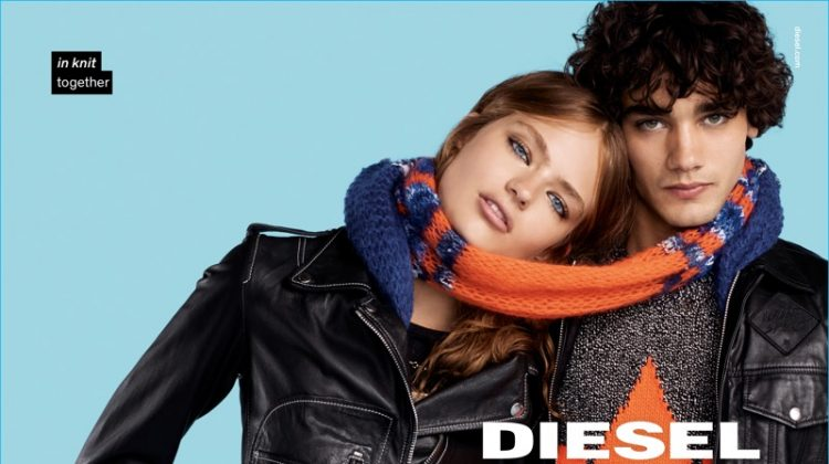 Diesel Offers Playful Twist on Typical Fashion Imagery for Fall Campaign