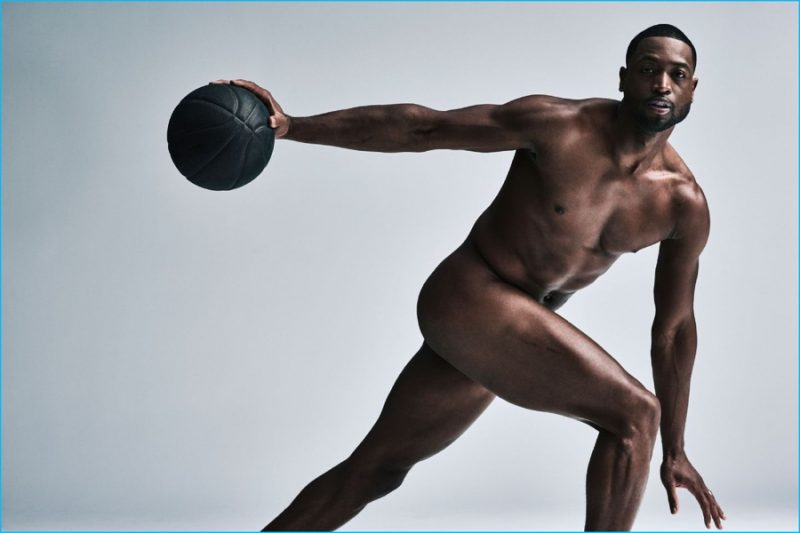 Dwyane Wade photographed by Carlos Serrao for ESPN's 2016 Body Issue