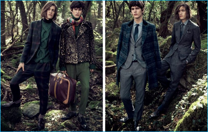 Etro returns to nature for an elegant fall-winter 2016 campaign.