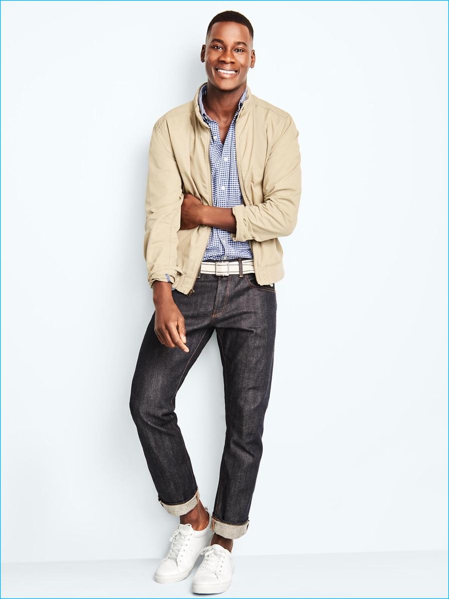 Slim Fit Short Sleeve Dress Shirts For Men
