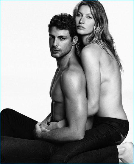 Cauã Reymond Joins Gisele Bündchen for Givenchy Jeans' New Campaign