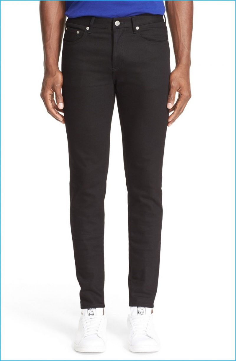 Givenchy Slim Fit Jeans with Star Details (Front)