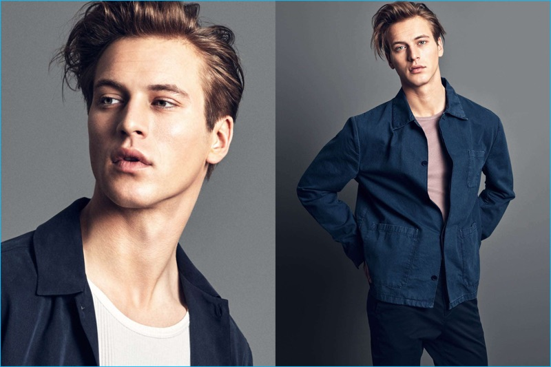H&M's denim shirt jacket offers a casual takeaway from the Swedish brand's essential style edit.