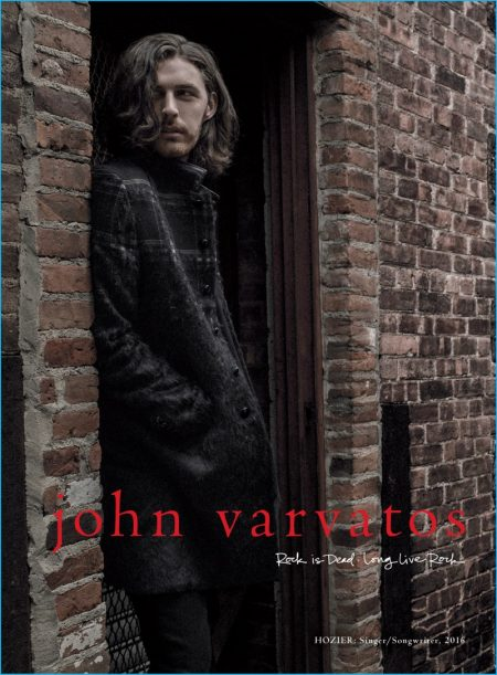Hozier Fronts John Varvatos' First Color Campaign