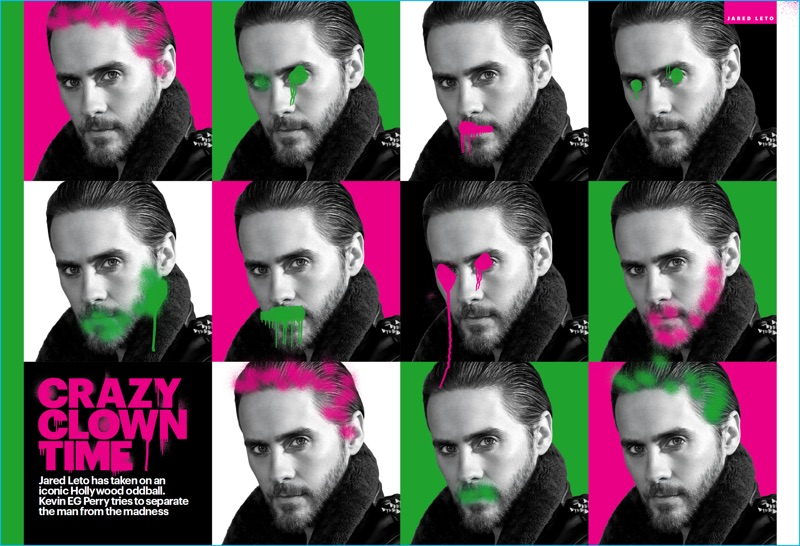 Jared Leto 2016 Shirtless Rolling Stone Cover The Fashionisto