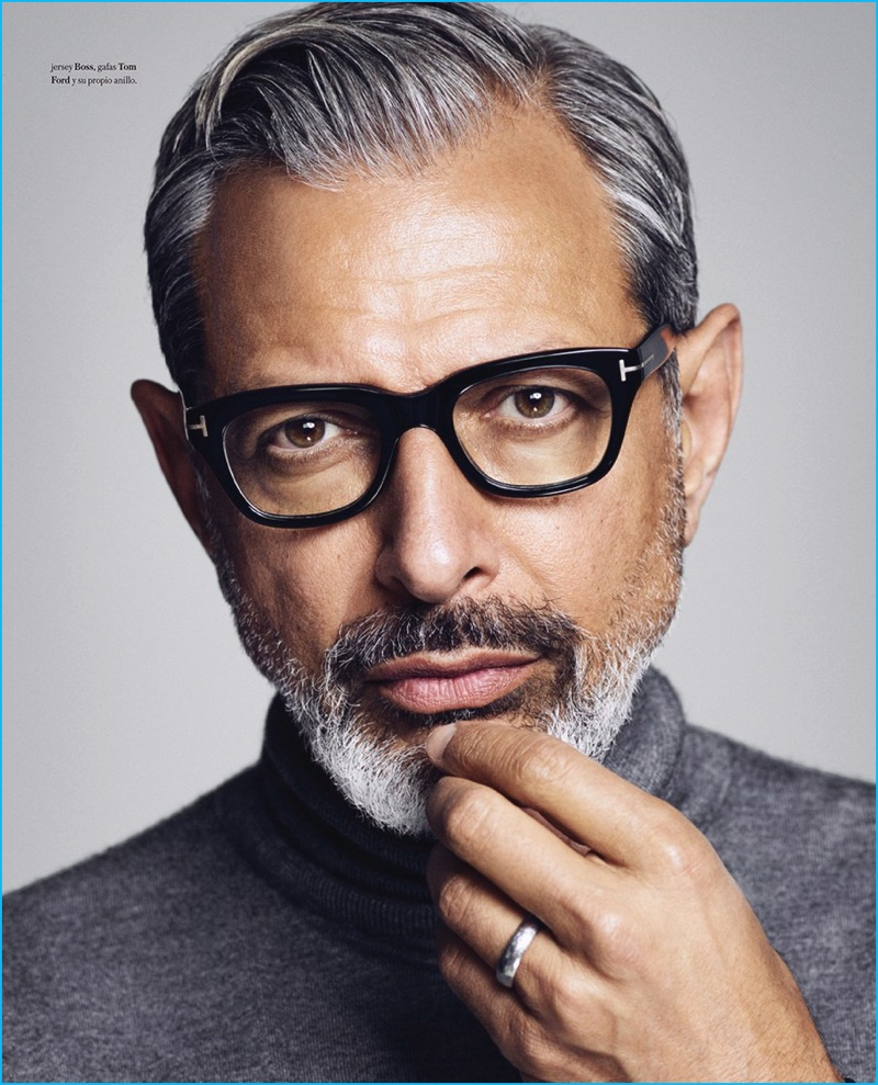 Jeff Goldblum Cuts A Sharp Figure For Icon El Pa 237 S Shoot