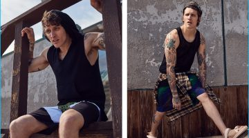 Surf's Up: Leebo Freeman Rocks Beach-Ready Styles for Forward