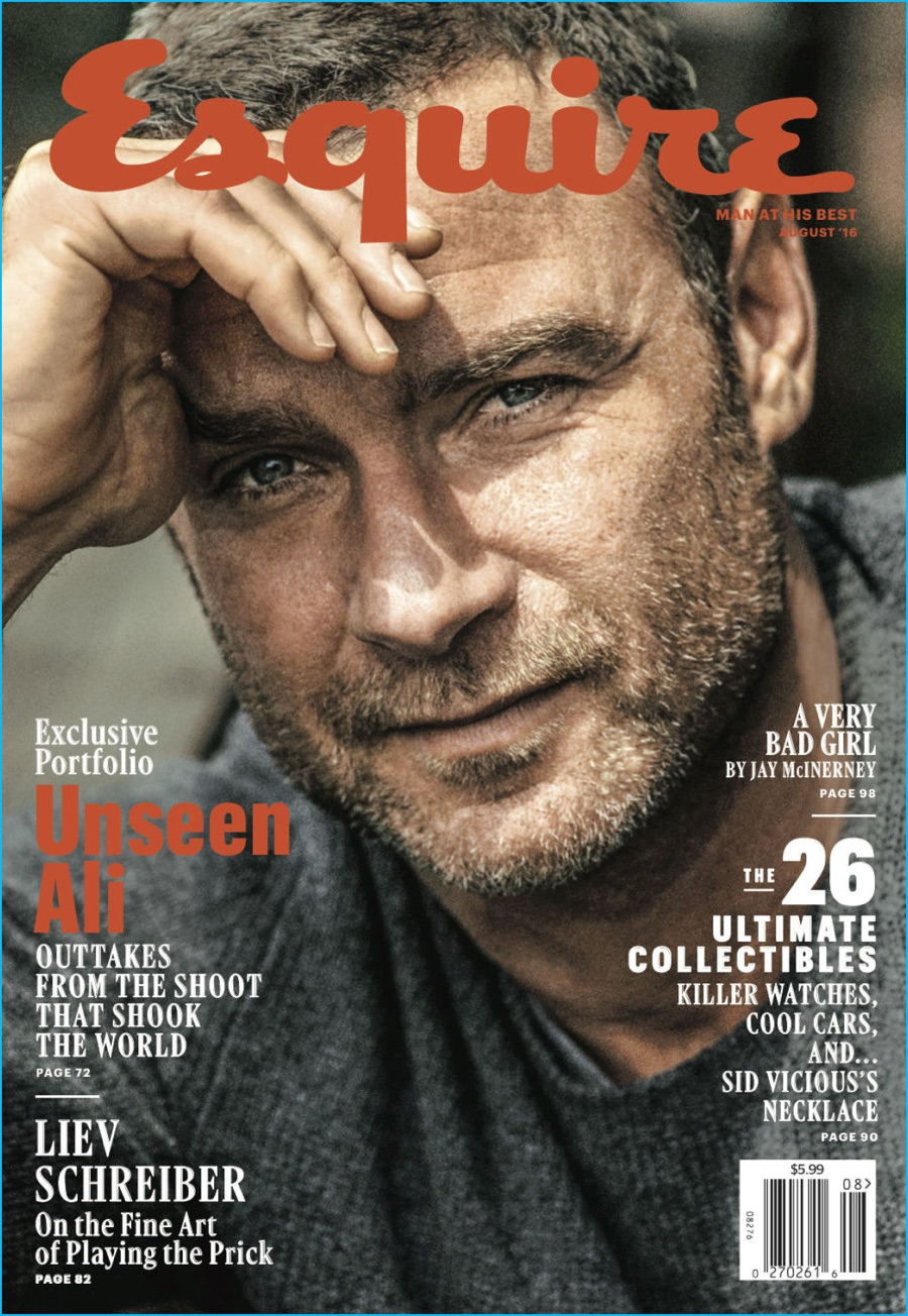 Liev Schreiber Covers Esquire, Reflects on Upbringing ...