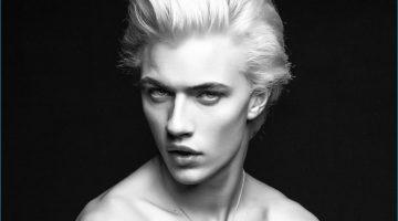 Lucky Blue Smith Gives Us Dorian Gray Attitude for Nylon Guys Español