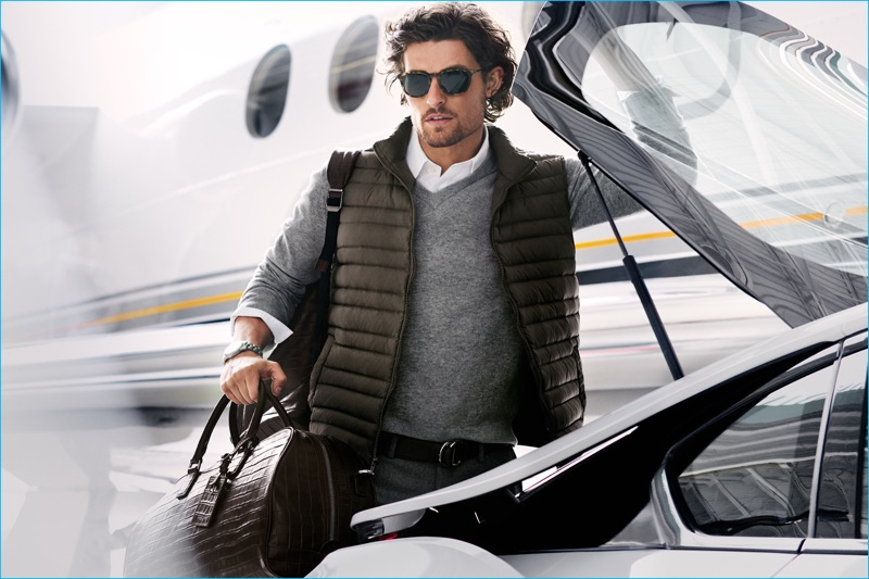 Wouter Peelen captures the spirit of Michael Kors' jetsetter for its fall-winter 2016 men's campaign.