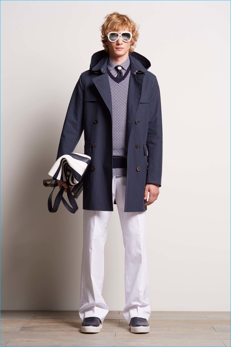Michael Kors embraces a nautical flair for its spring-summer 2017 men's collection.