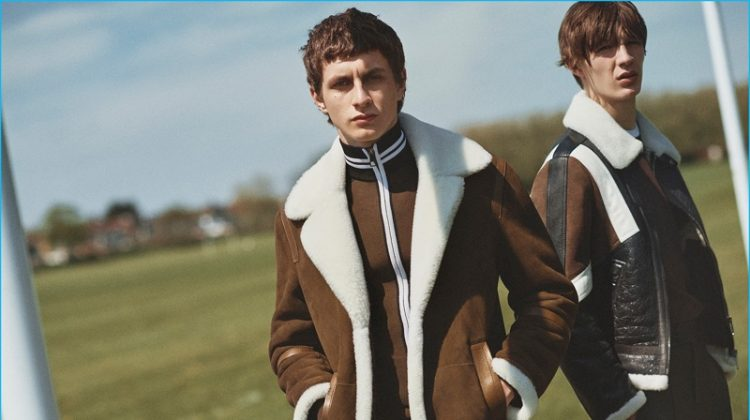 Neil Barrett Goes to London for Fall Ad Campaign