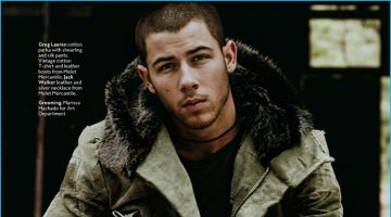 Nick Jonas Poses for InStyle Shoot, Talks Personal Style