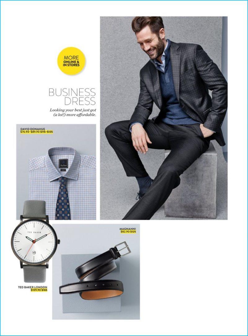1d00cfc18da9 Nordstrom Anniversary Sale 2016 Men s Catalogue. John W Nordstrom quarter  zip sweater