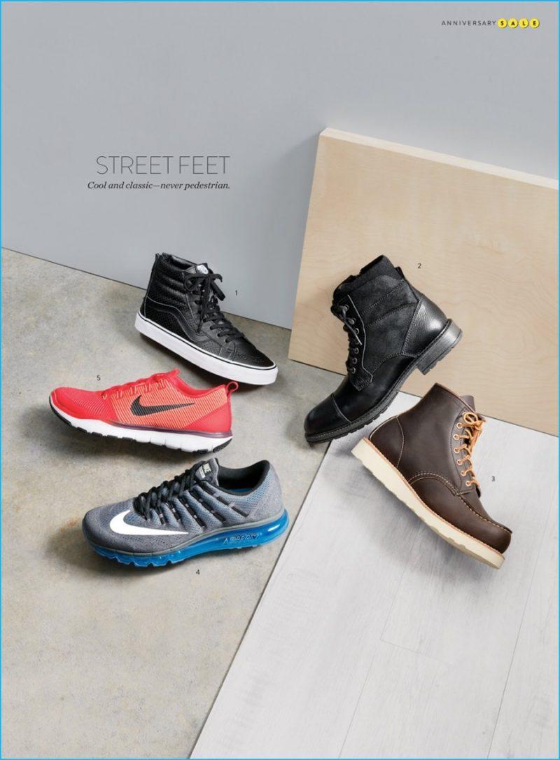 1. Vans Sk8-Hi perforated high top sneaker 2. The Rail cap toe e7c957fbe830