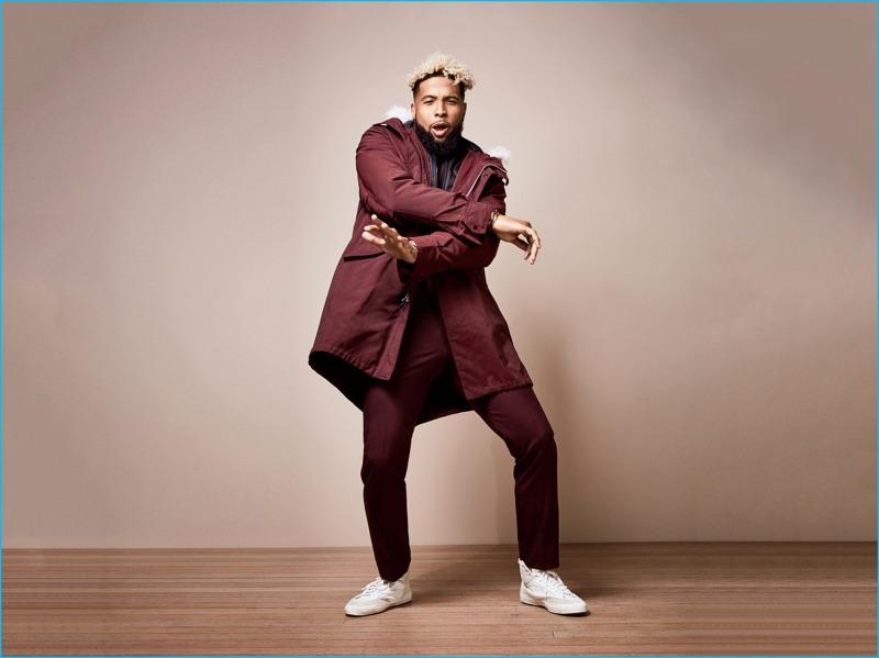 Odell Beckham Jr Rocks Fall Fashions For Gq Talks How
