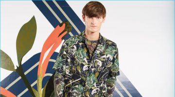 Perry Ellis Crafts Collage of Ideas for Spring Collection