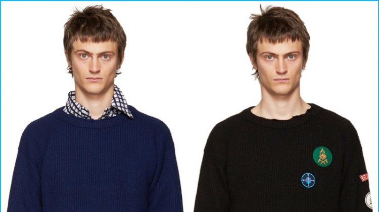 Raf Simons' Destroyed Fall Sweater, Consider Us Obsessed