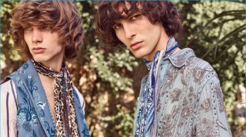 Roberto Cavalli embraces bohemian style for its spring-summer 2017 collection.
