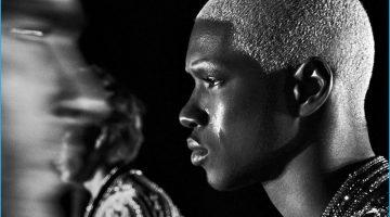 Balmain Brings the Tears for Black & White Fall Campaign