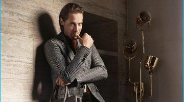 Salvatore Ferragamo Stages Luxe Fall Campaign at Italian Villa
