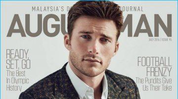 Scott Eastwood Covers August Man, Talks 'Suicide Squad'