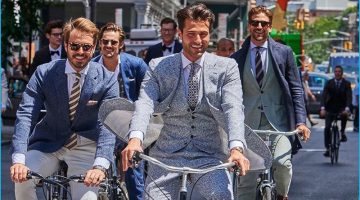 Suitsupply Brings Its Tailored Gent to New York Fashion Week