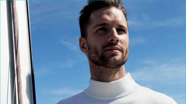 Sea Wolf: Tomas Skoloudik Models Nautical Styles for GQ Russia