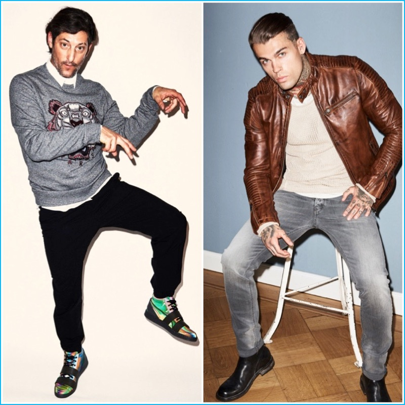 Wormland Fall 2016 Preview (Left to Right): Models Tony Ward, Stephen James