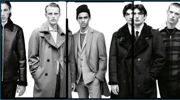 Zara Man Unveils the Simple Present for Fall Campaign