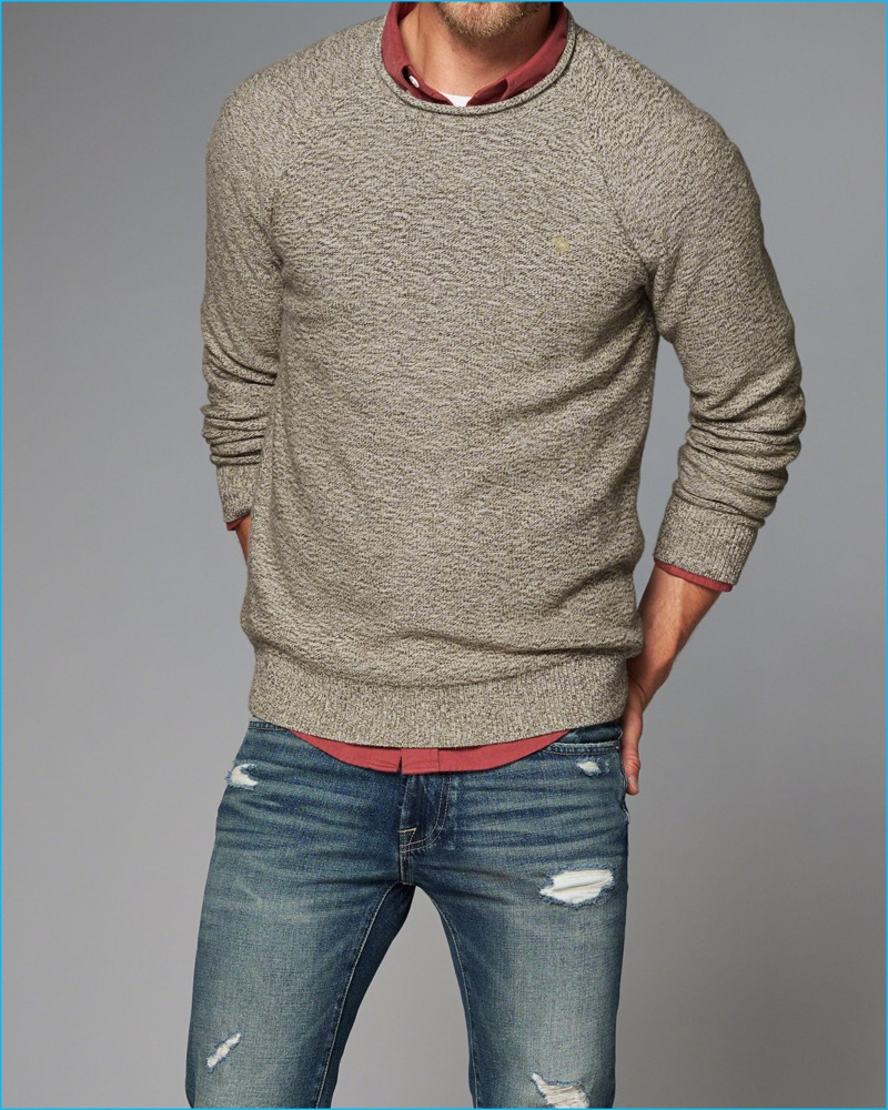 Abercrombie & Fitch 2016 Fall Men's Sweaters