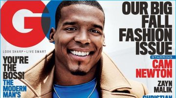 Cam Newton is GQ's Superman for September Cover Story