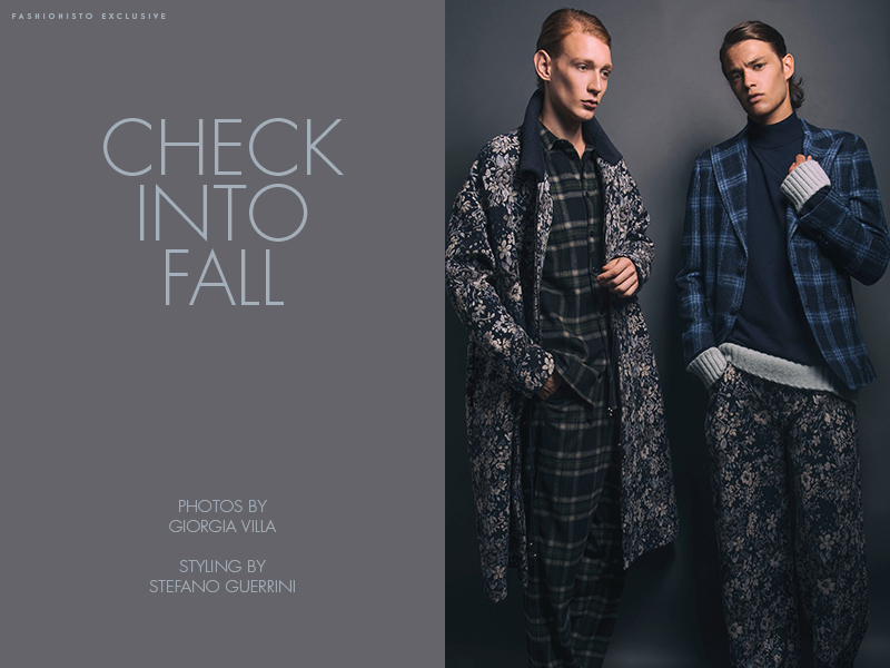 Fashionisto Exclusive: Lucas Dambros and Raffaele Capuano photographed by Giorgia Villa
