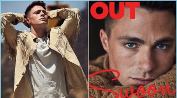Colton Haynes Covers Out, Discusses Pressures to Stay in the Closet