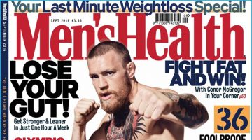 Conor McGregor Covers Men's Health UK, Gives Fighting Tips