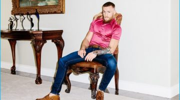 Conor McGregor Connects with GQ, Talks Nate Diaz
