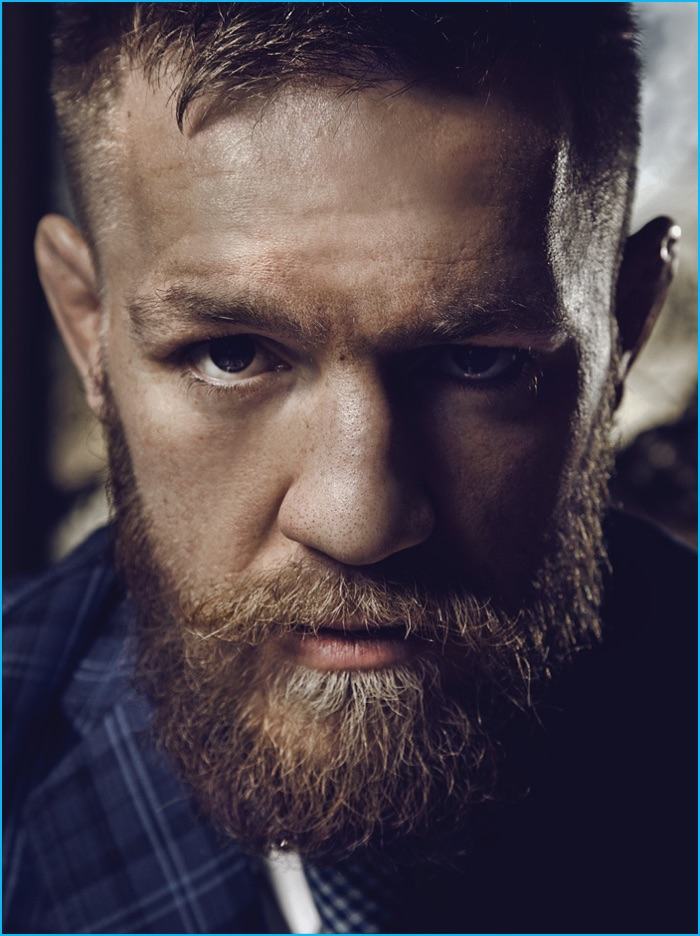 Conor McGregor Poses for Haute Time, Talks Luxury Suits