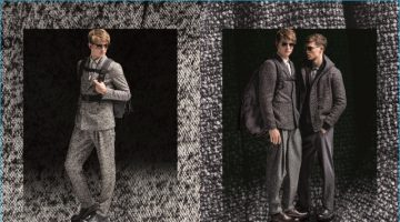 Emporio Armani's Techno Tailoring is Front & Center for Fall