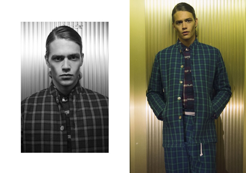 Raffaele wears shirt Hilfiger Denim, jacket and trousers Studiopretzel.