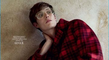 Felix Gesnouin Sports the Fall Collections for GQ Russia