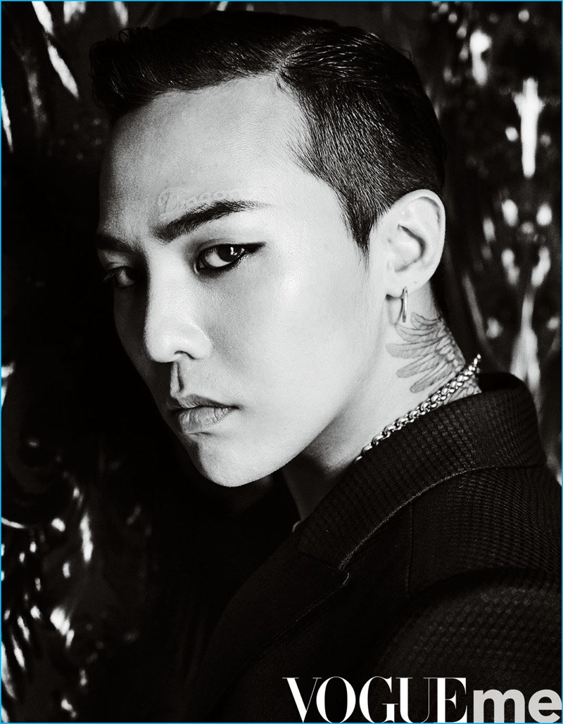 G-Dragon photographed by Mario Testino for Vogue ME.