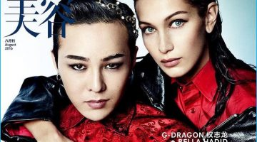 G-Dragon Joins Bella Hadid for Vogue ME Cover Shoot