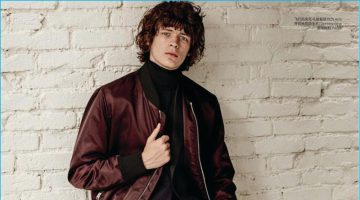 Sports Luxe: GQ China Hones in on the Bomber Jacket