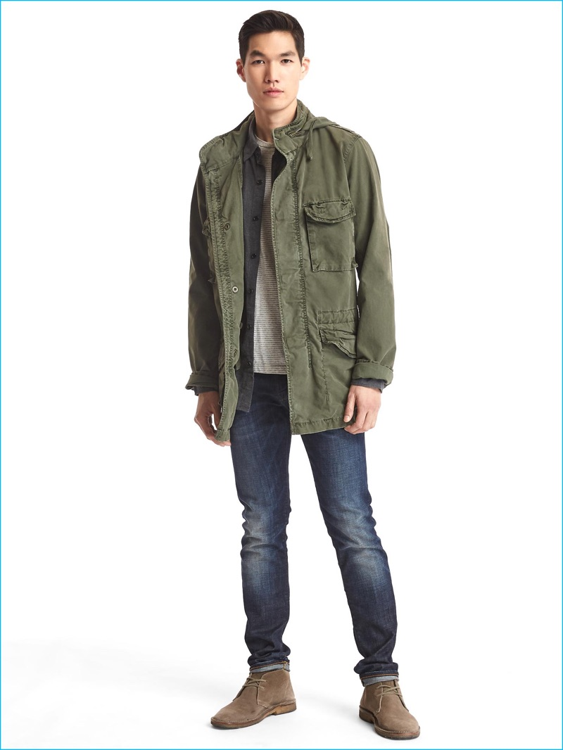 Military Style Trending: Gap Makes a Case for the Fatigue ...