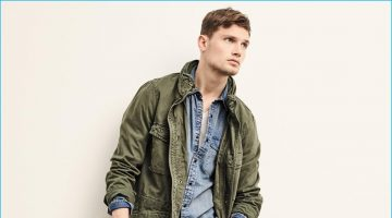 Military Style Trending: Gap Makes a Case for the Fatigue Jacket