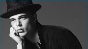 Giorgio Armani Embraces Classic Black & White Aesthetic for Fall Campaign