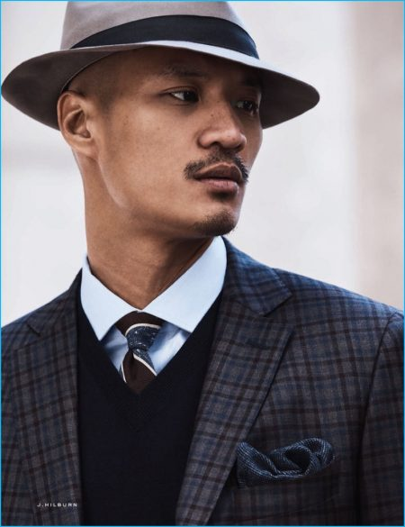J.Hilburn Delivers Tailored City Style in the Big Apple